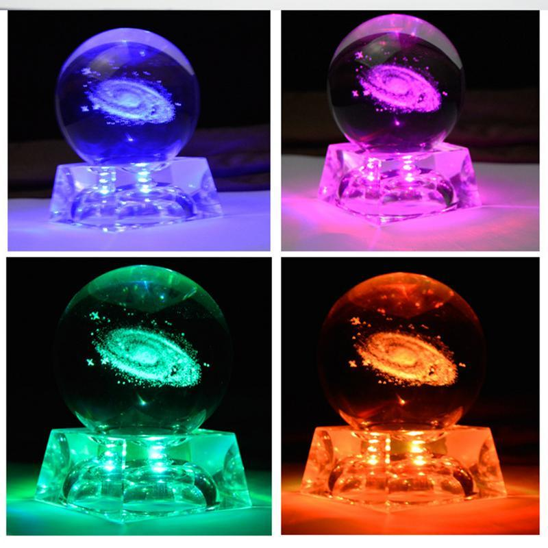 3D Galaxy Crystal Ball