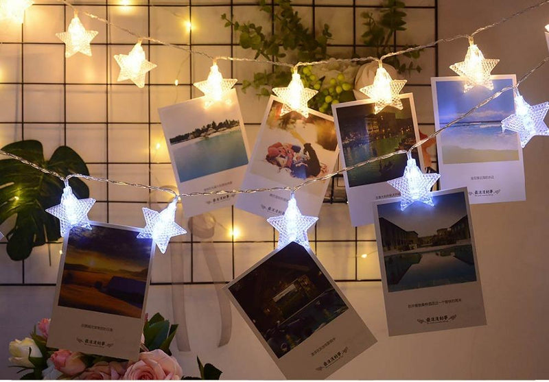 Twinkle Star Photographic String Lights | Home Lightenig, Wall Decoration, Gifts Ideas, Lighting & More | StylishGram