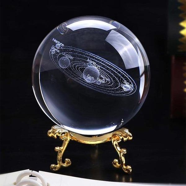 The Absolute Biggest Solar System Crystal Ball | Gifts Ideas, Crystal Ball Decor, Lighting & More | StylishGram