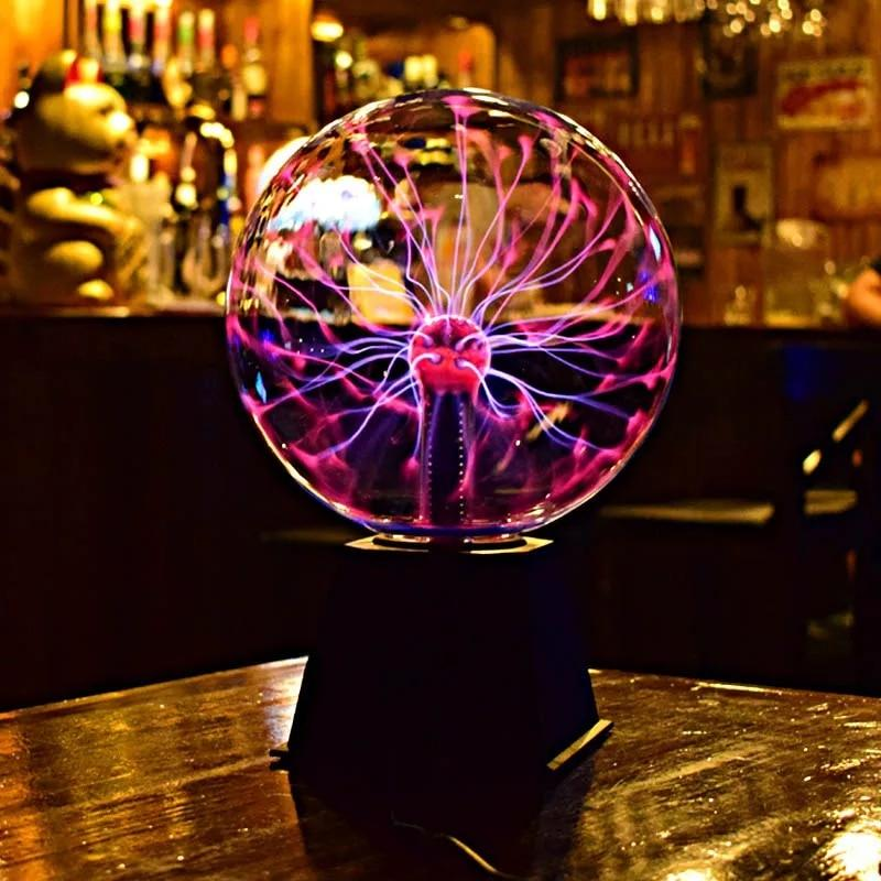 Magic Plasma Ball | Gifts Ideas, Crystal Ball Decor, Lighting & More | StylishGram