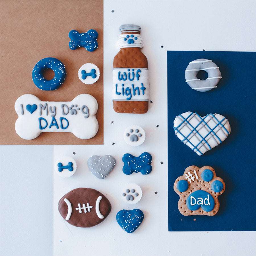 Dog Dad Cookie Box