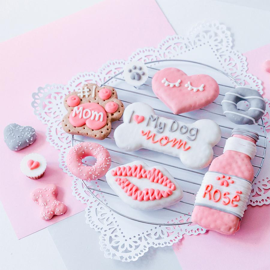 Valentine's Day + Dog Mom Cookie Box Bundle