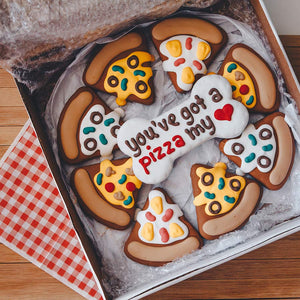 Pizza My Heart Cookie Box