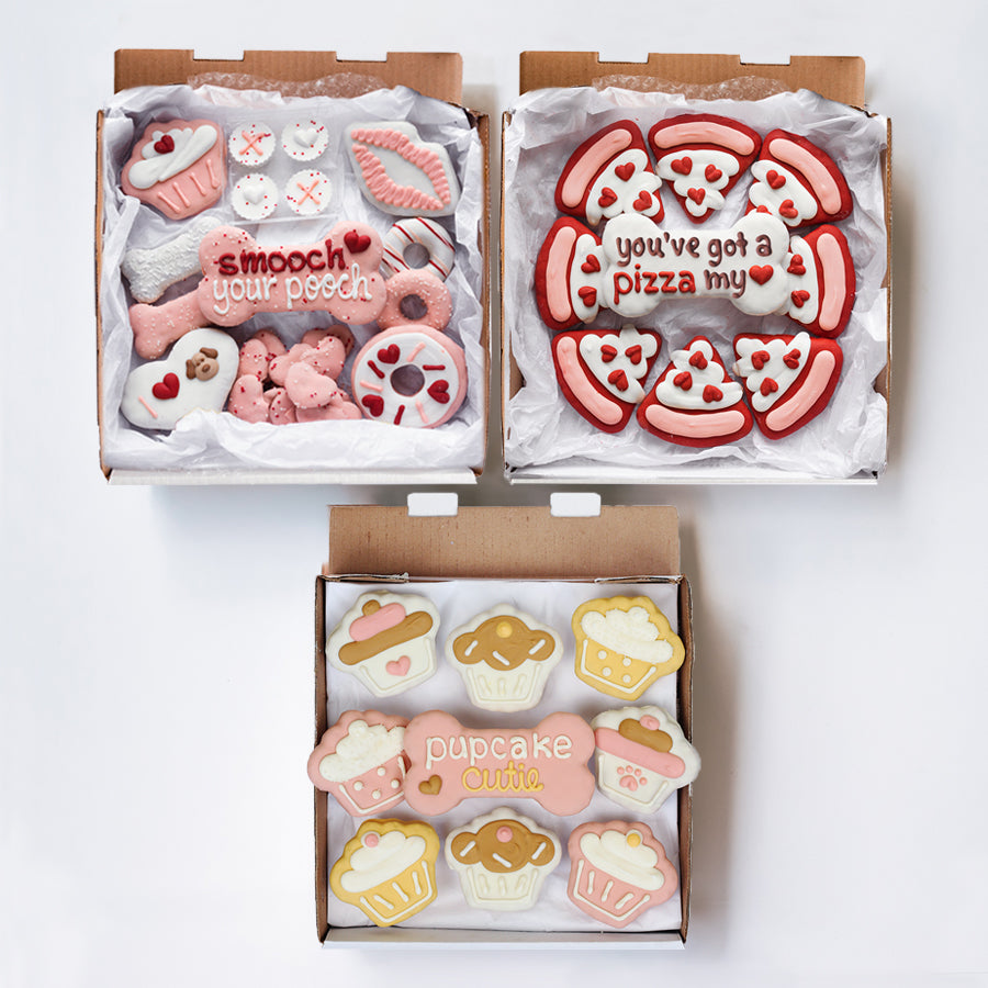 Valentine's Day + Pizza My Love + Cupcake Cutie Trio