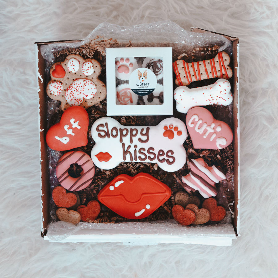 Pizza My Heart + Sloppy Kisses Cookie Box Bundle
