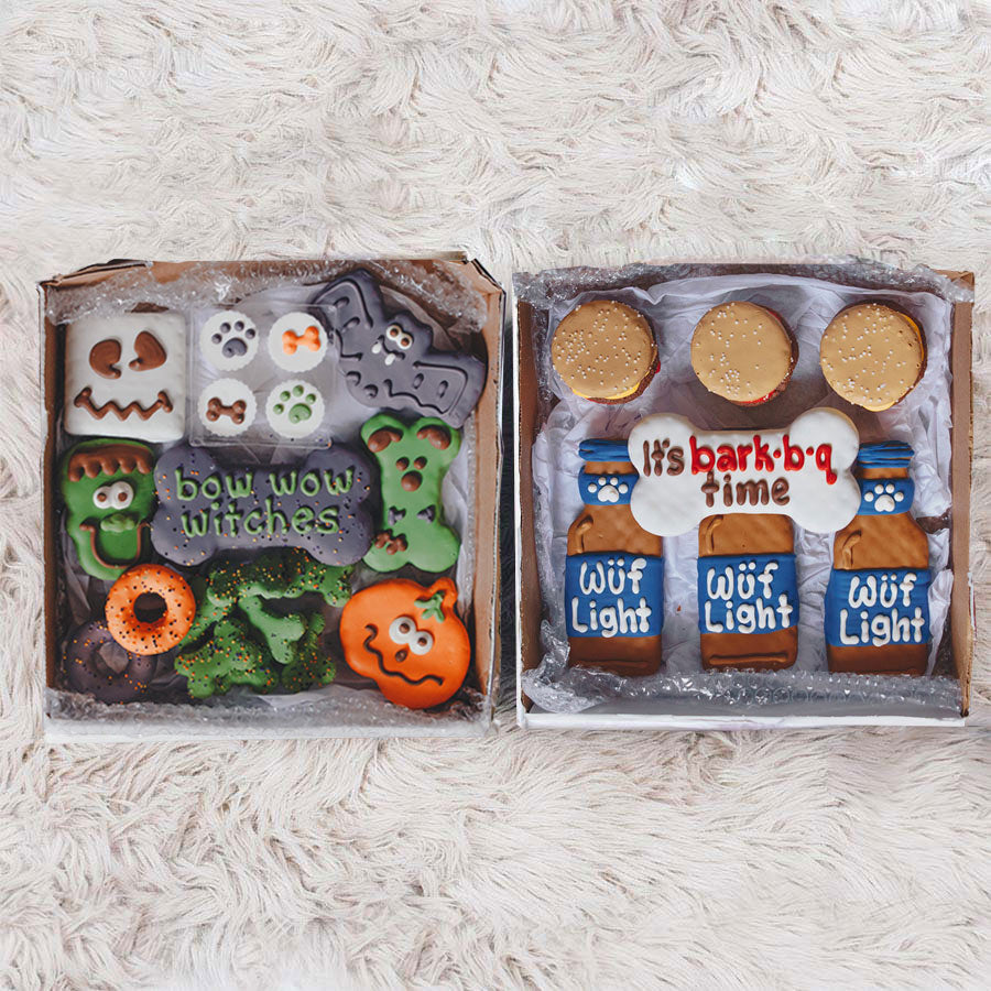 Halloween + Burgs & Beers Cookie Box Bundle