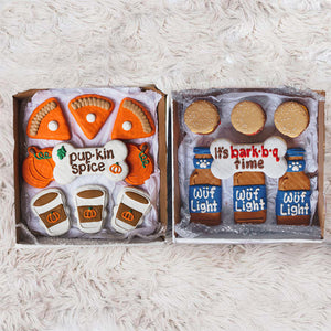 Pup-Kin Spice + Burgs & Beers Cookie Box Bundle