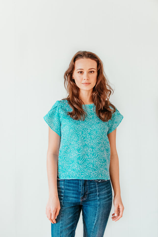 Lucia Top Blue