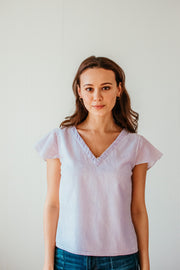 Leah Handwoven Top