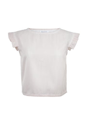 Etta Structured Top SAMPLE Size L