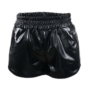 SHORTS METALIZADO