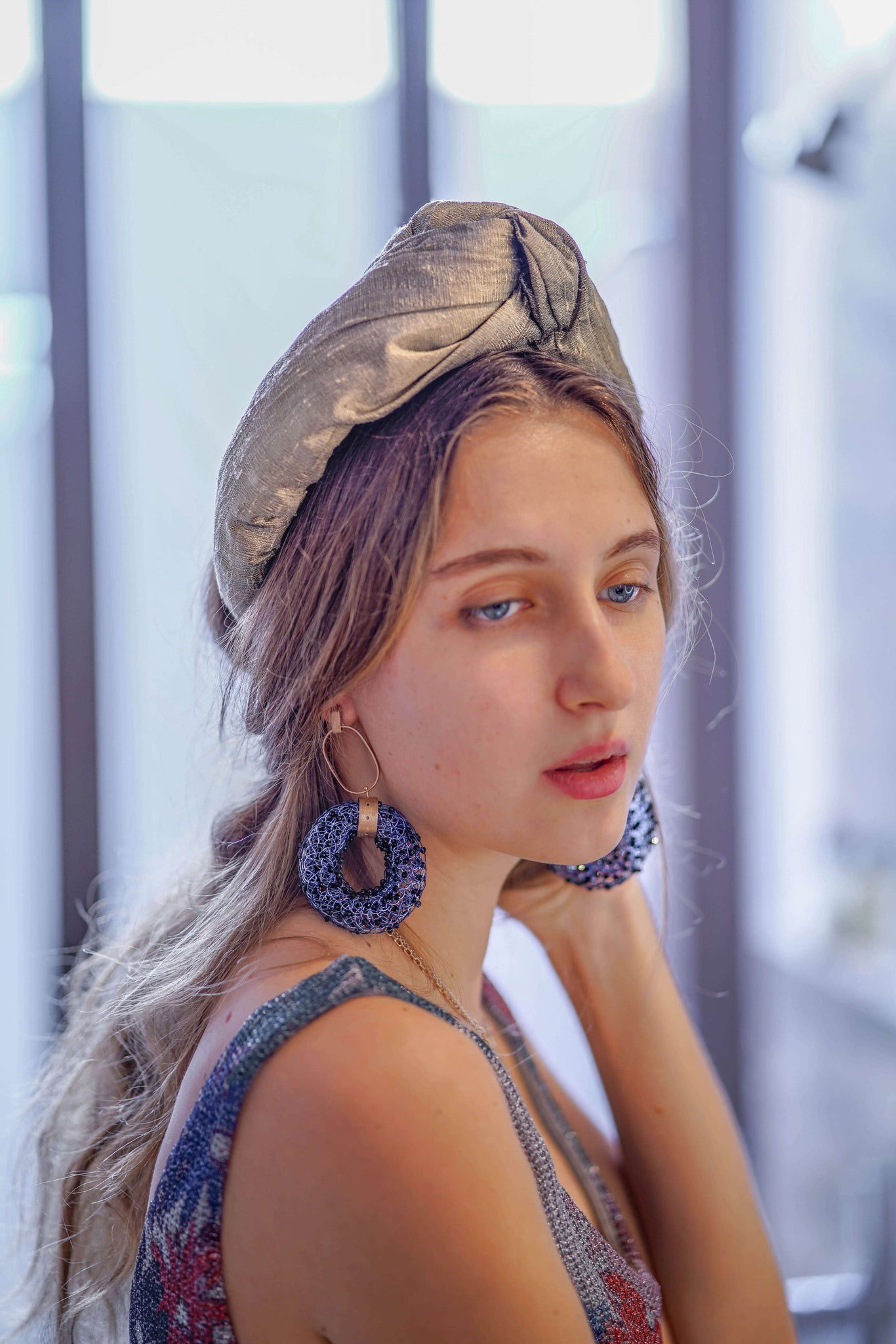 silk turban stylish fashion turbans women trendy hair accessories TANYA LITKOVSKA