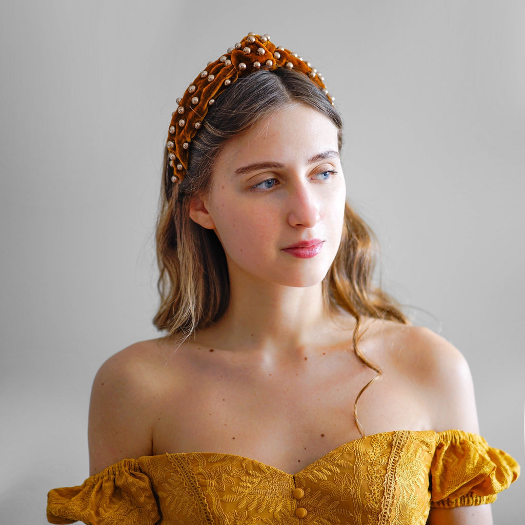 velvet beaded headbands tanya litkovska