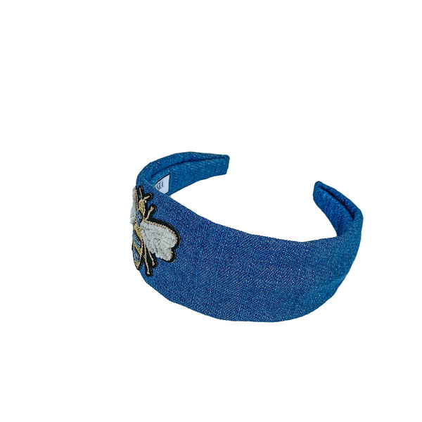 denim headbands for women | best women's headbands | fashion headband by tanya litkovska