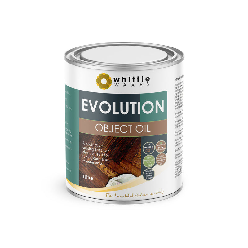 Whittle Waxes Evolution Object Oil - ideal for repair and replenishment - 1 Litre