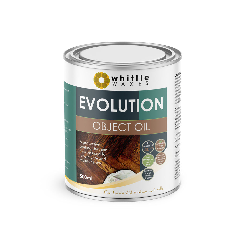 Whittle Waxes Evolution Object Oil - ideal for repair and replenishment - 500ml