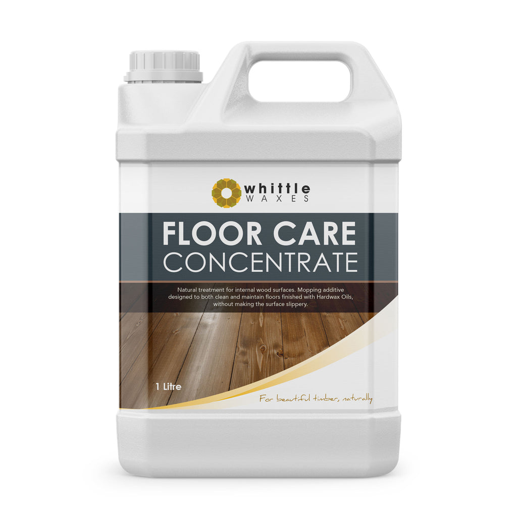 Whittle Waxes Floor Care Concentrate - cleaning and care treatment for wood surfaces - 1 Litre