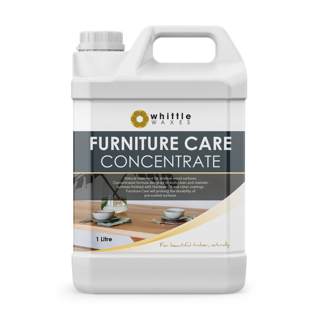 Whittle Waxes Furniture Care Concentrate - cleaning and care treatment for wooden furniture - 1 Litre