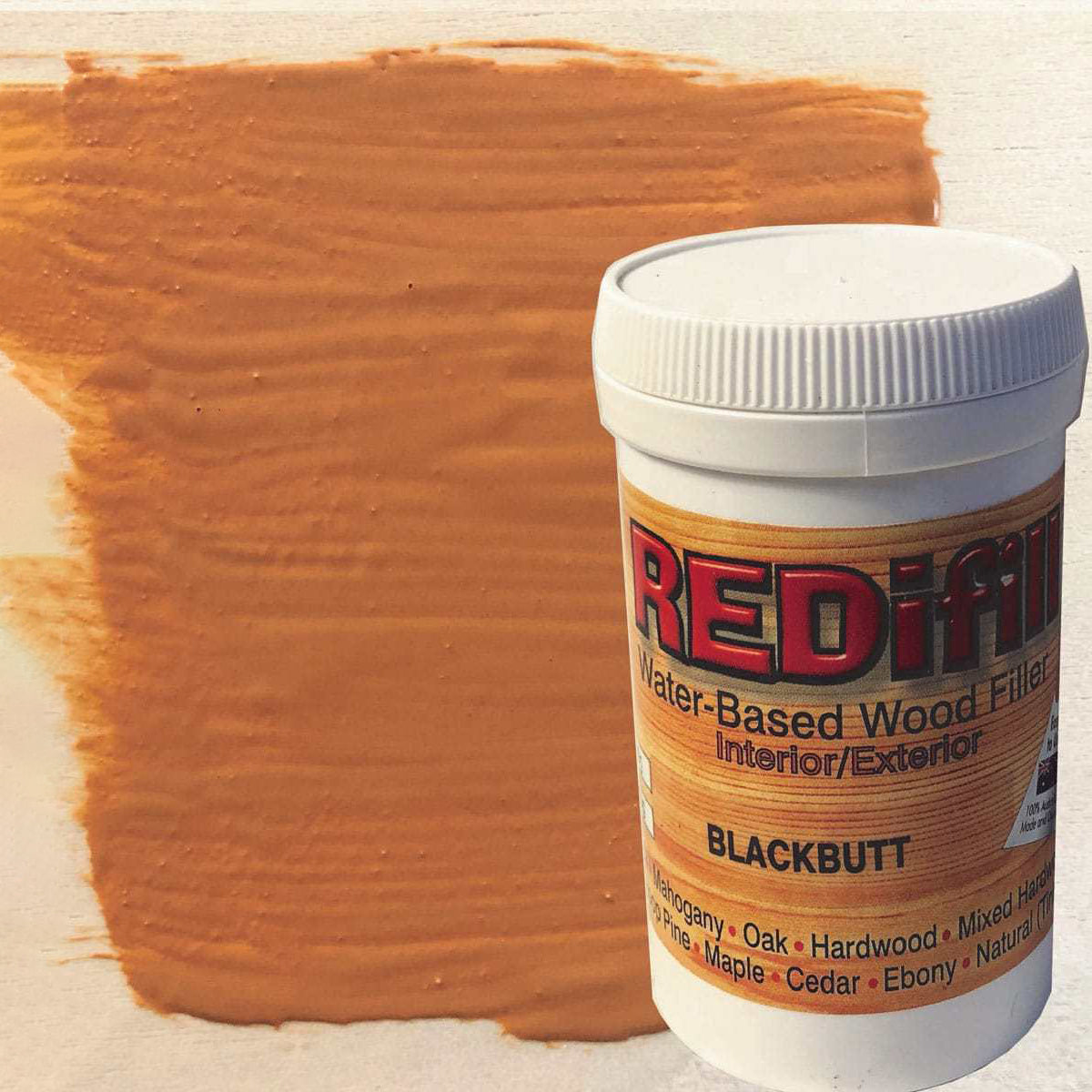REDifill wood filler (Blackbutt)