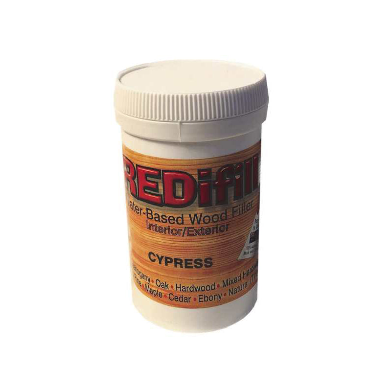 REDifill wood filler (Cypress)