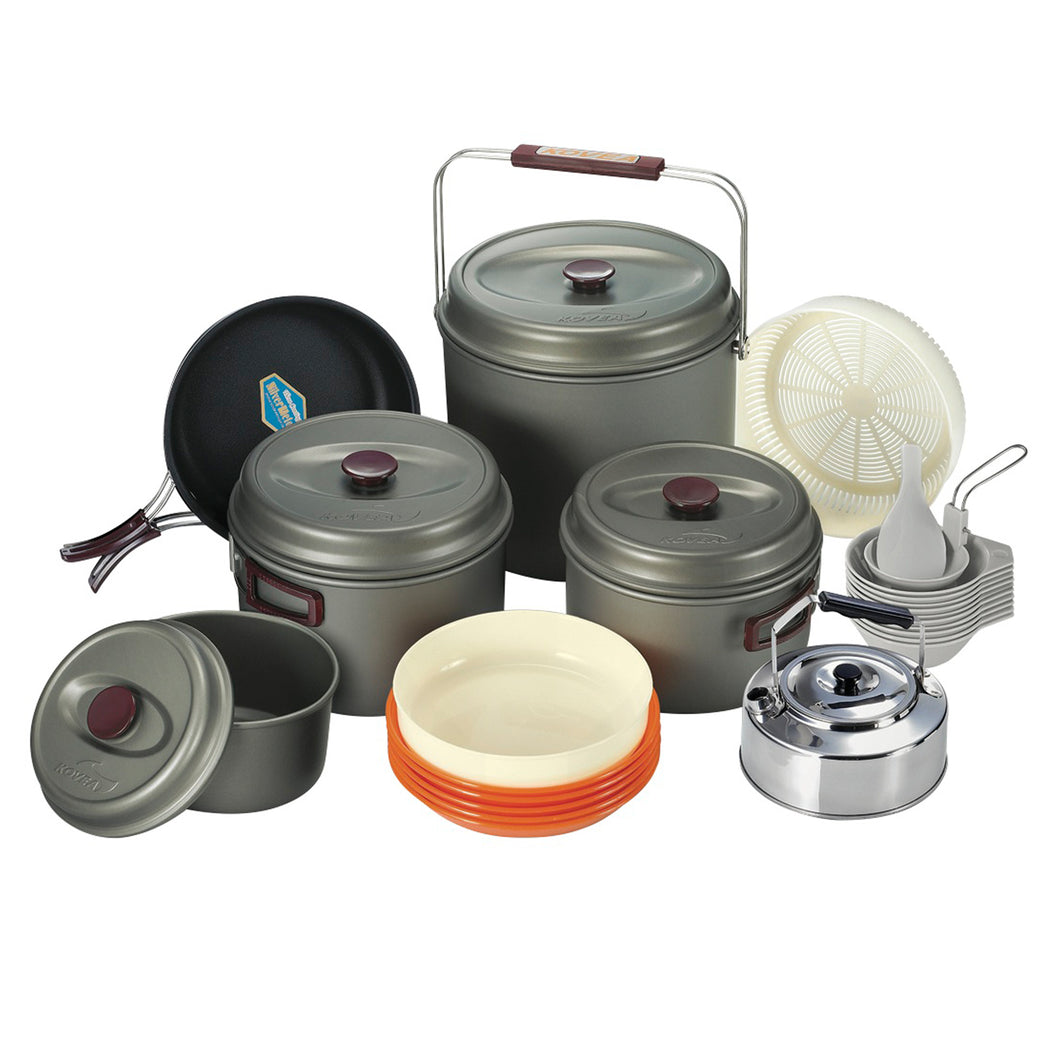 10 Person Cookware