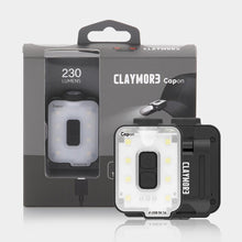 CLAYMORE CAPON 40B Rechargeable Cap Light