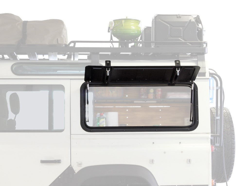 Land Rover Defender Gullwing Window / Aluminium