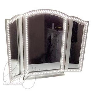 Luxxytrendscom Luxxy Led Vanity Mirror Lights Kit 240 Led 6500k
