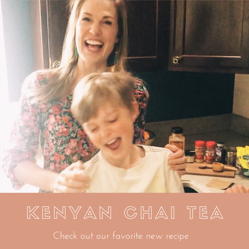 Join us for tea? Kenyan Tea that is!