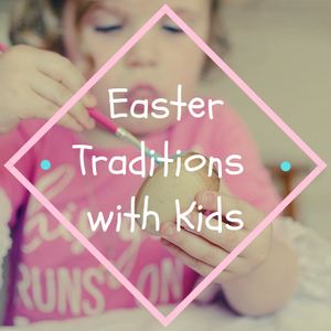 Easter Traditions with Kids: Wooden Easter Eggs