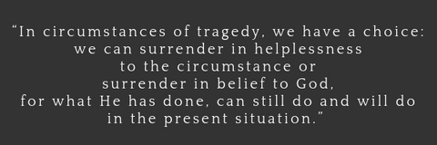 Surrender in belief