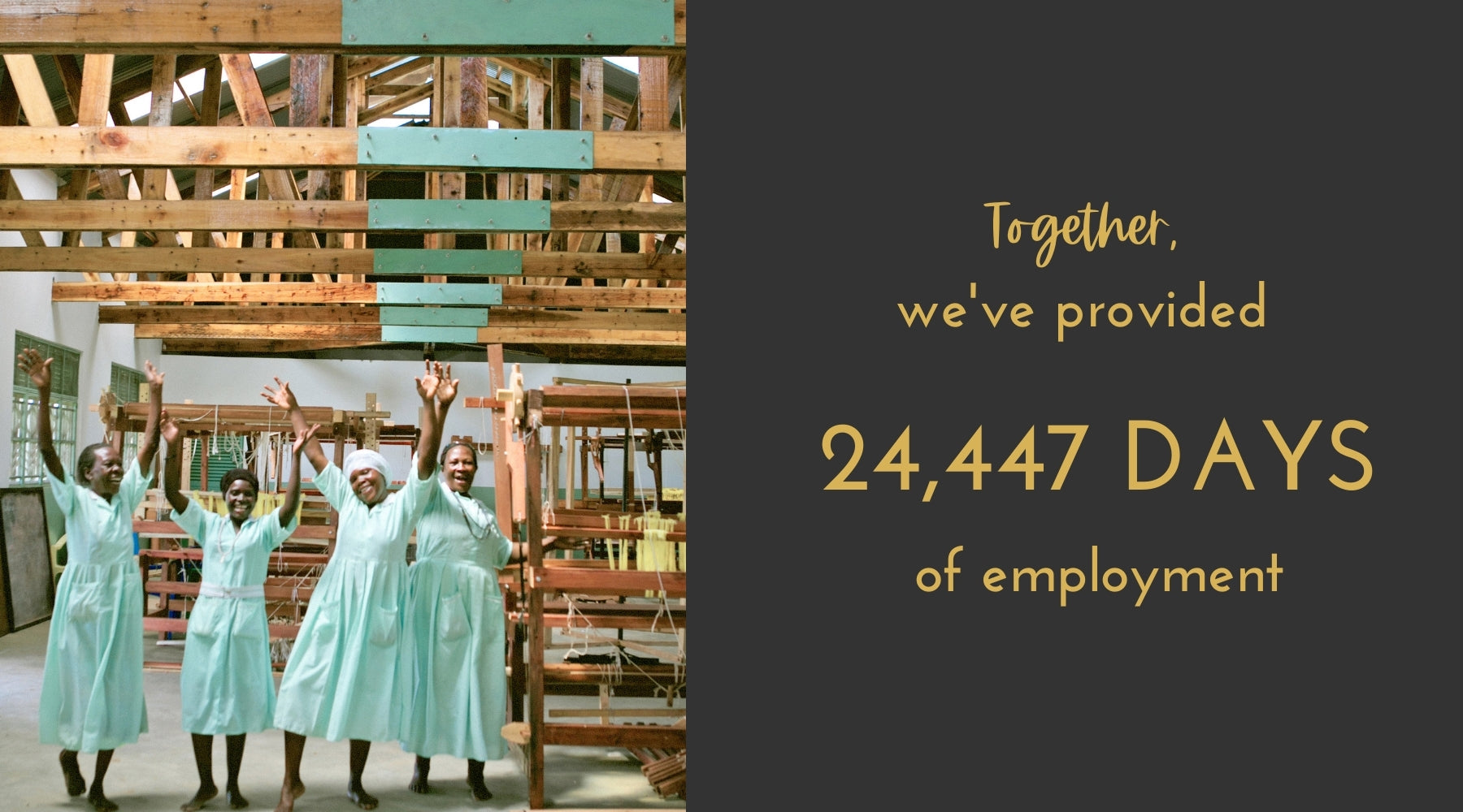 24,447 Days of employment