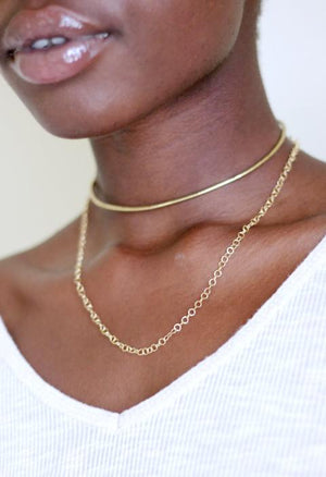 Draped Chain Nehemie fairtrade necklace
