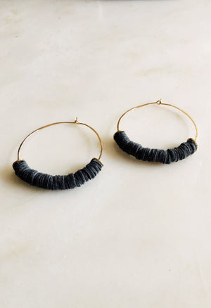 Leather Bits Earrings