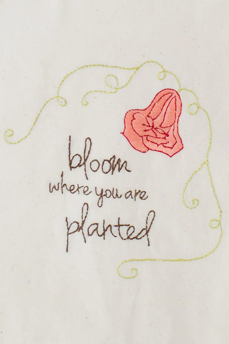 Bloom Where You're Planted Banner