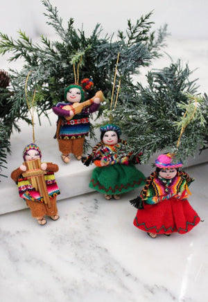 Peruanos Ornaments