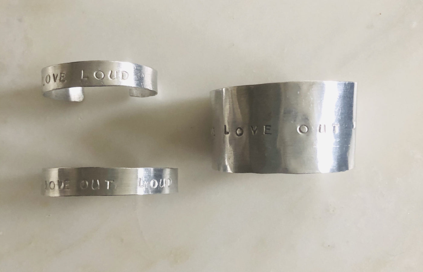 Love out Loud Cuff - Equipping Haitian Artisans
