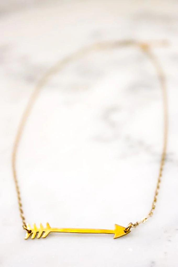 Aim for Love Necklace