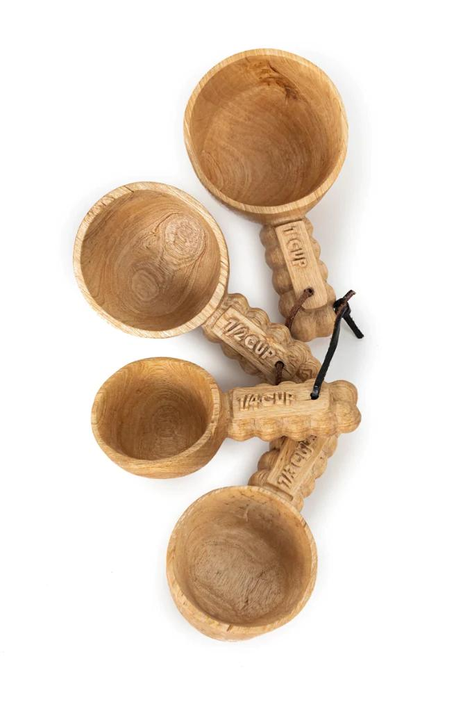 Lela Hand Carved Measuring Cups