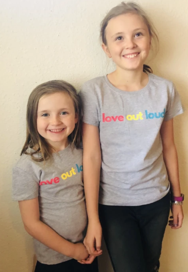 Kids Love Out Loud Tee - Equipping Haitian Artisans