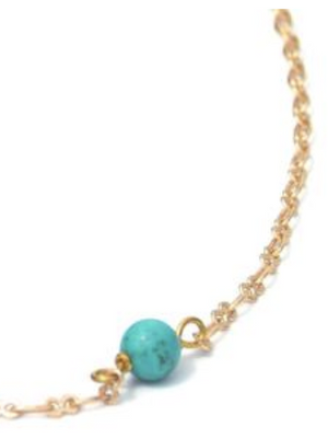 Tiny Turquoise Necklace