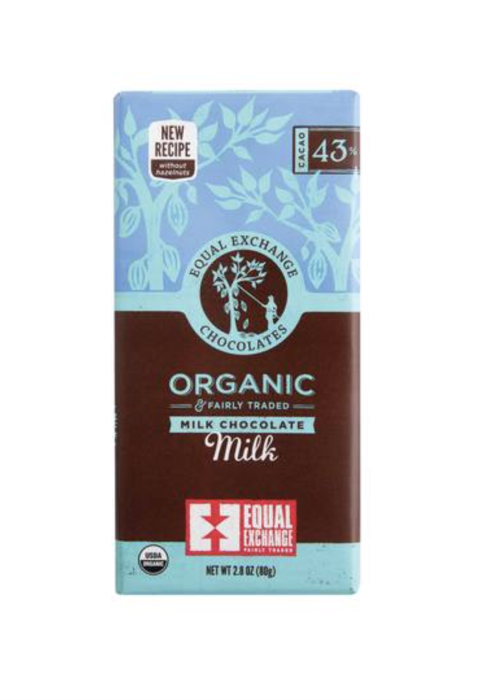 Organic Milk Chocolate Bar