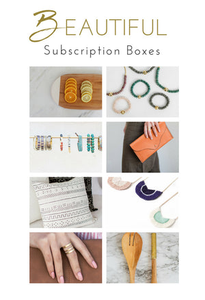 Beautiful Box - 1 year subscription