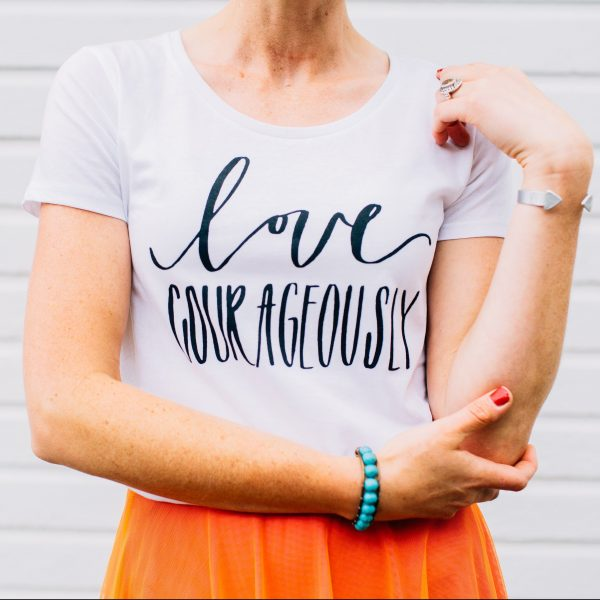Love Courageously Tee