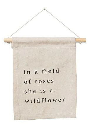 Wildflower Wall Banner