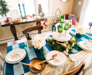 Ethical Table decor