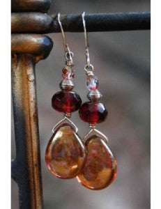 Fair trade earrings from Pamba Toto
