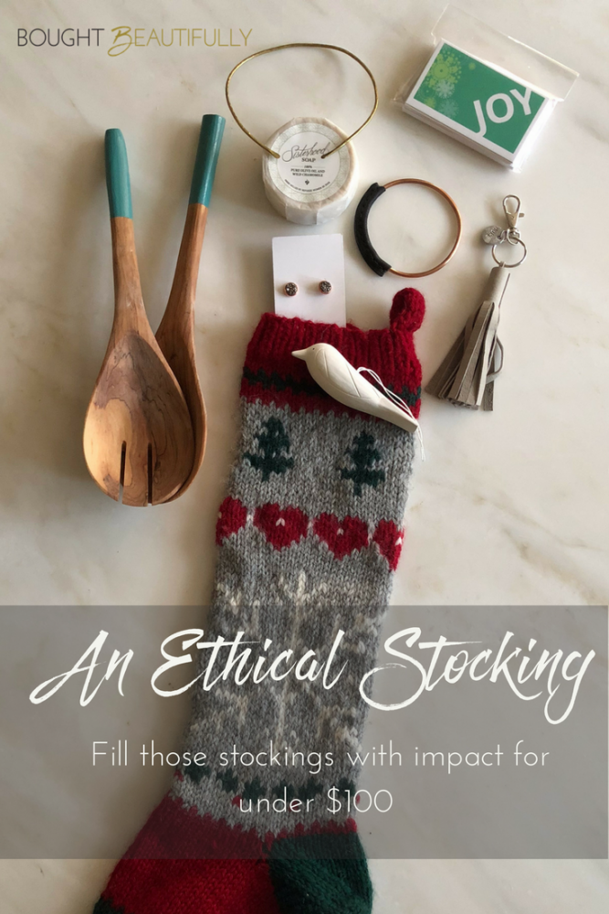 Ethical and impactful stocking stuffers