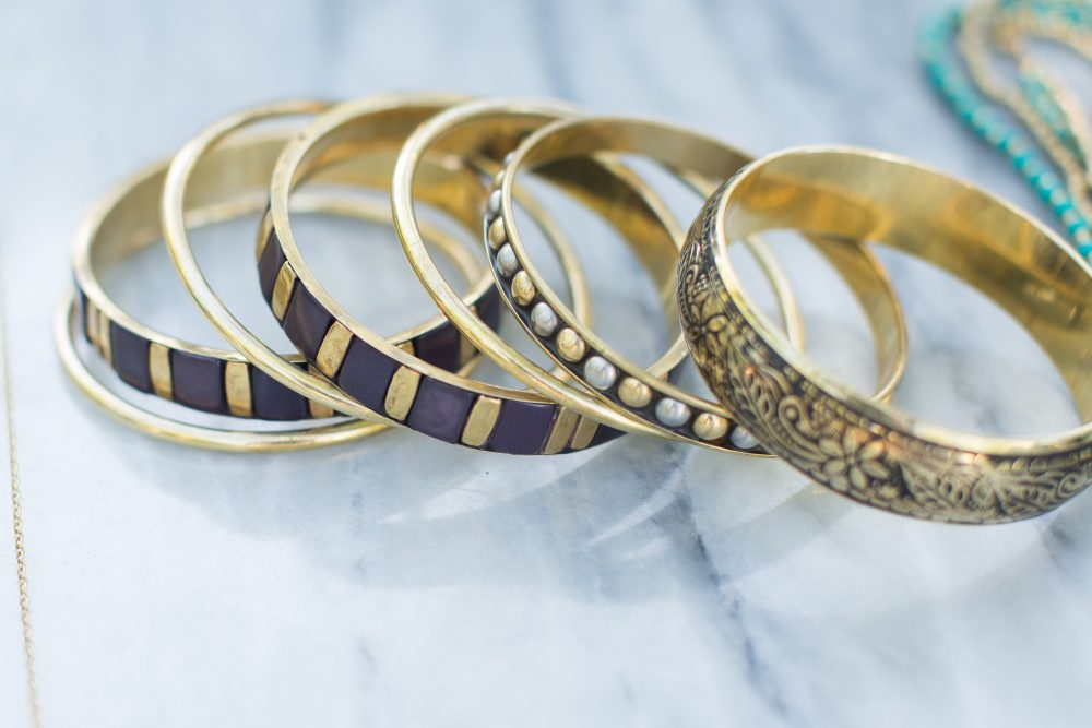 Multi-piece bangle set