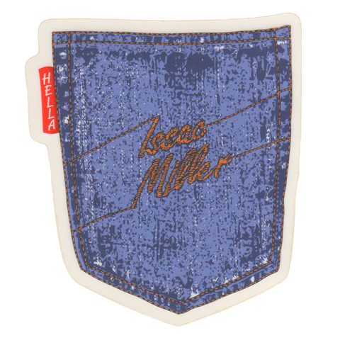 iSHACK DENIM STICKER